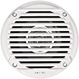 Jensen MS5006WR Dual Cone Waterproof 5.25' Speaker, White, 30 Watts Max Power Handling, Sensitivity 86dB, Frequency Response 79Hz-20kHz, Nominal Impedance 4 Ohms, 1.5' Mounting Depth, Sold In Pairs