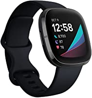 Fitbit Sense, Advanced Smartwatch with Tools for Heart Health, Stress Management & Skin Temperature Trends,...