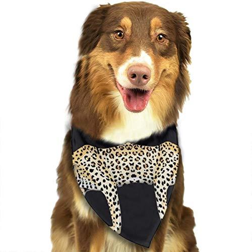 N/B Bbgsw Zebra Panter Tijger Spiegel Blauw Bladeren Aangepaste Hond Hoofddoek Heldere Gekleurde Sjaals Leuke Driehoek Bibs Accessoires Voor Huisdier Honden