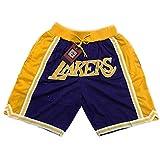 バスケットボールショーツ、刺繍メッシュルーズランニングフィットネスショーツ、メンズバスケットボールショーツ、ユースバスケットボールト