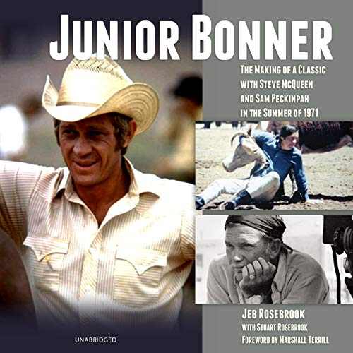 Junior Bonner audiobook cover art