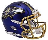 NFL Baltimore Ravens Alternate Blaze Speed Mini Helm