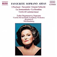 Luba Orgonasova - Favourite Soprano Arias by VARIOUS ARTISTS (1994-02-15)