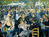 World of Art Auguste Renoir Dance at The Moulin de la