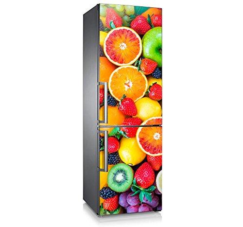 Vinilo para nevera | Stickers Fridge | Pegatina Frigo | Tutti Frutti (185x60)