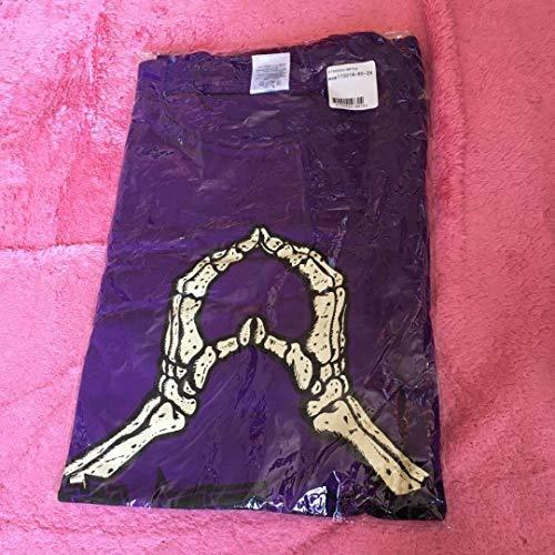 ももいろクローバーZ マキシマムザホルモン コラボTシャツ 高樹れに 紫 ももクロ