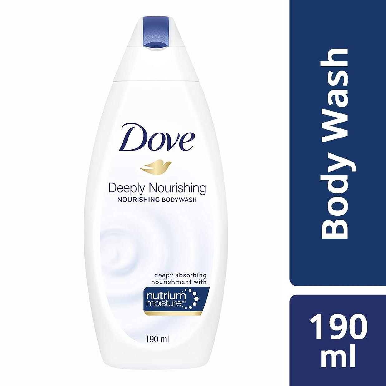 悪因子遠征パン屋Dove Deeply Nourishing Body Wash, 190ml
