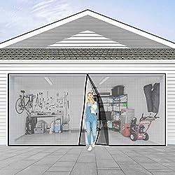 in budget affordable Single Car Garage Door Screen 9x7FT Garage Door, High Performance Garage Door Screen…