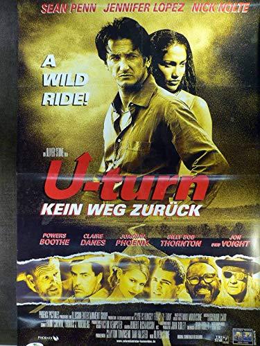 U-Turn - Kein Weg zurück - Jennifer Lopez - Videoposter A1 84x60cm gefaltet (R)