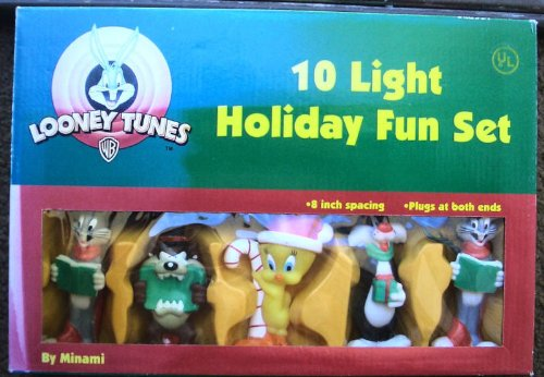 Looney Tunes Christmas Holiday Light Set (1997)