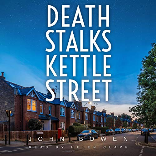 Death Stalks Kettle Street  By  cover art