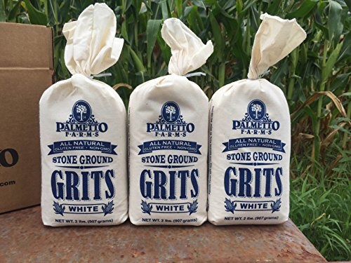 Palmetto Farms White Grits 3 Pack