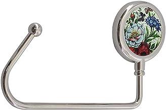 Lioobo – Gancho de mesa de liga metálica – Gancho de mesa portátil – Gancho de mesa para bolsas e bolsas