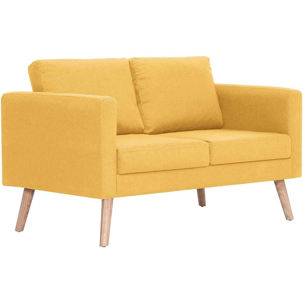 Festnight, divano a 2 posti ,moderno divano in tessuto resistente di alta qualita`. BIW1657979180837DC