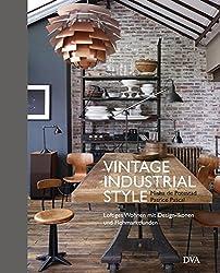 vintage industrial style loftiges wohnen mit design ikonen buch dva 2015. Black Bedroom Furniture Sets. Home Design Ideas