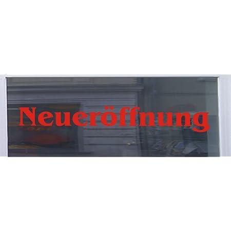 2x NeuerÖffnung Aufkleber 40cm Eröffnung Hinweis Sticker Dub Auto