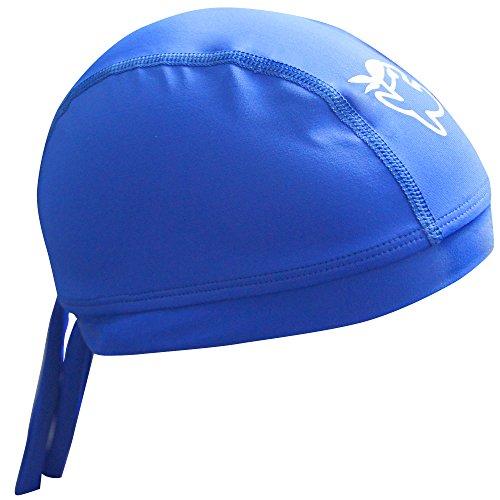 iQ-UV Kinder UV Mütze 300 Cap Kiddys, Deep-Blue, 55 cm