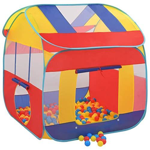 Festnight Tienda de Juegos Infantil Tienda Piscina de Bolas con 300 Bolas XXL 123 x 120 x 126 cm
