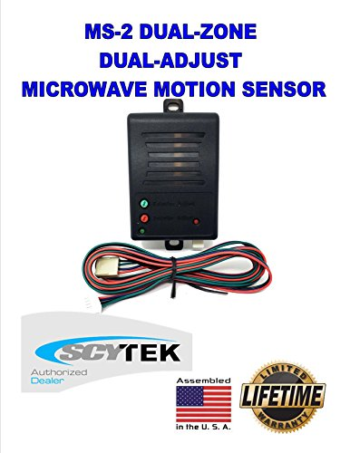 SCYTEK MS-2 DUAL-ZONE / DUAL MICROWAVE MOTION SENSOR UNIVERSAL ALL CAR ALARMS