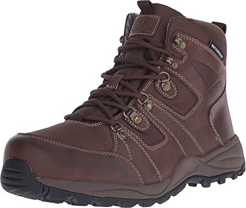 Drew Trek - Men's Waterproof Orthopedic Boot Dark Brown - 9 6e