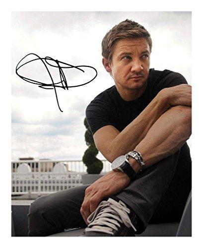 Jeremy Renner Signiert Autogramme 21cm x 29.7cm Plakat Foto