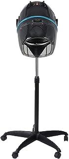 HURRISE US 110V Adjustable Hooded Floor Hair Bonnet Dryer, Stand Hair Dryer Hair Dryer with Wheels for Home