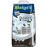 Biokat's Diamond Care Classic ohne Duft - Feine Katzenstreu mit Aktivkohle und Aloe Vera - 1 Sack (1 x 10 L)