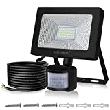 Motion Sensor Security Lights Outdoor, MEIKEE 30W 3400 lumens Super Bright PIR Sensor Flood Light, IP66...