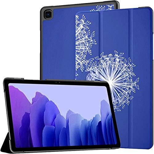 Juego de Fundas para Tableta Samsung A7 Funda de Tres Dientes de león para Samsung Galaxy Tab A7 10.4 Pulgadas Funda Protectora de liberación 2020 Funda Protectora para Samsung Galaxy A7 Funda de Cue