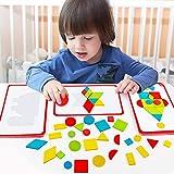 JW-YZWJ Kinder de Madera magnética Moderna Creativa Rompecabezas Tangram Puzzle Infantil Set Juguetes
