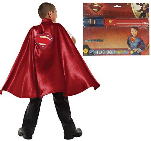 Rubie's Child's DC Comics Cape Costume Accessory Kit, Superman