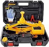 Planta eléctrica de coches Gato Set 3 Ton todo-en-uno Tool Kit 12V Automático Elevador tijera de 2 vías de alimentación de reparación de coches portátil for la reparación de vehículos y neumáticos Sus
