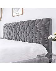 WEIJ Säng huvudgavel överdrag sängskydd med stretch dammtätt bomullsöverdrag för tvilling/full/kung sänggavel