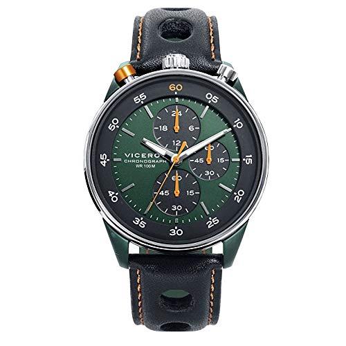 VICEROY Armbanduhren Herren Analog Quarzwerk Lederband 46763-24