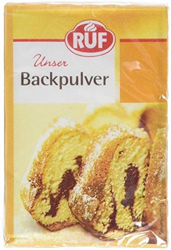 RUF Backpulver für Küche und Haushalt Großpackung, 54er Pack (54 x 6 x 15g)