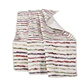 Greenland Home Bella Ruffle Quilted Throw Blanket, Full