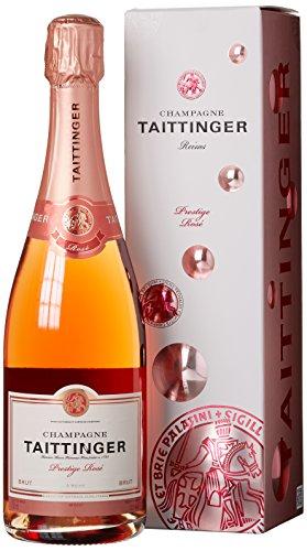 Taittinger Prestige Rosé Brut in Geschenkverpackung Champagner, 750ml