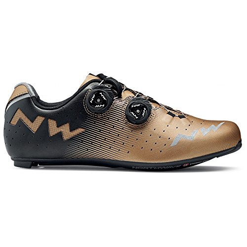 NORTHWAVE Chaussures velo route homme REVOLUTION bronze/noir