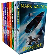 Mark Walden Collection HIVE Series 8 Books Bundle (Aftershock, Deadlock, Zero Hour, The Overlord Protocol, Higher Institut...