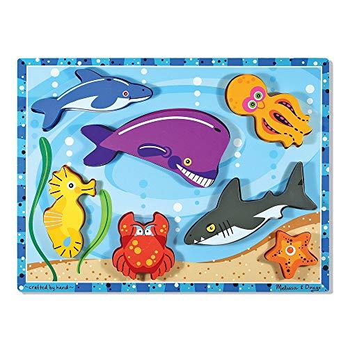 Sea Creature Chunky Puzzle