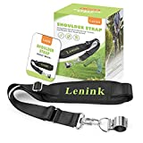 Lenink Weed Eater Strap, Blower Strap Weed Wacker Shoulder Strap Compatible with EGO String Trimmer, Leaf Blower, Multi Head System (Black)