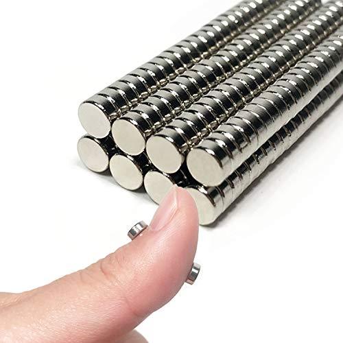 ネオジム 磁石 マグネット ネオジウム磁石 200個セット 直径 5mm 厚い 2mm お絵かきボード 磁石 强力, 冷蔵庫 マグネット オフィス 学校 キッチン 用品 小さい 丸型磁石