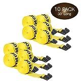 10 Winch Straps, 4