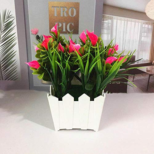 Regen Thuis Woonkamer Office Decor Tuintafel Decoratie Lotus Plant Decor Kunstmatige Potten Bloem Bonsai