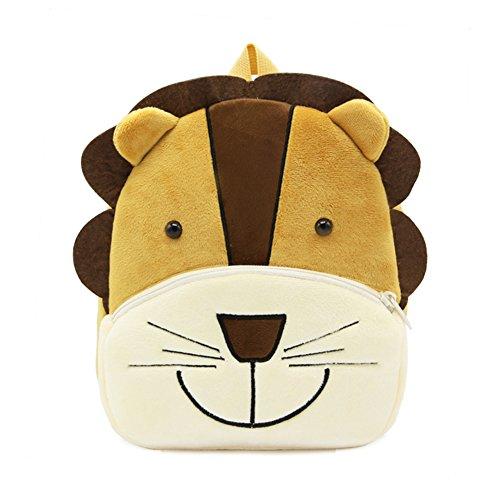 Abshoo Plush Lion Girls Toddler Backpack For Boys Preschool Bookbags