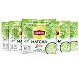 Lipton Sweet Japanese Matcha Latte Powder Mix -Sweetened with Cane Sugar, add Milk for Cafe Style,...