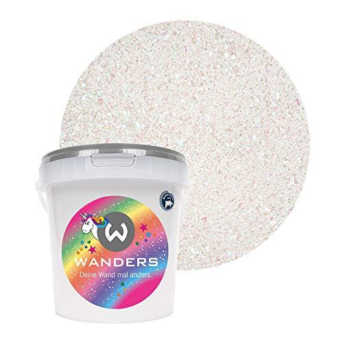 Wanders24® Einhornspucke (1 Liter) Wandfarbe Glitzer - Glitzerfarbe für Wand - ungiftig - Glitzer Wandfarbe - Made in Germany