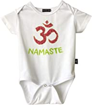 Namaste Baby Outfit Clothes, Yoga Onesie Gender Neutral, OM Baby Shower Gifts Bodysuit Shirt