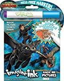 Bendon How to Train Your Dragon 3 Imagine Ink Magic Ink Pictures 13977