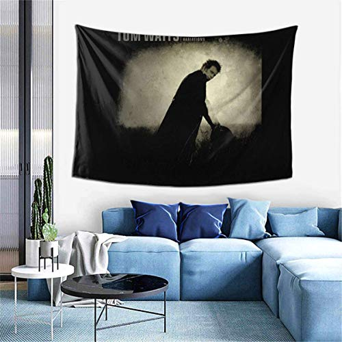 Lawenp Tom Waits Mule Variations Wall Decoration Tapestry Exclusive Wall Hanging Multi Purpose 60x40 Inches Horizontal Wall Backdrop Blankets for Living Room Bedroom .One Size